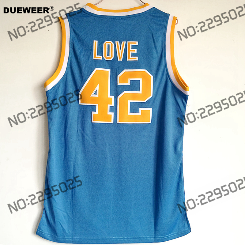 14f240d67 ... get dueweer mens throwback basketball jerseys 42 kevin love jerseys  ucla college basketball stitched blue shirts
