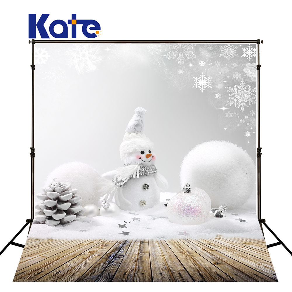 Kate Wood Photography Microfiber Background Christmas Theme Snowman Photographic Backdrops For Children Studio Photo Props kate shabby window backdrop for photography portable cotton photographic studio props gothic indoor background 5x7ft
