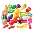 6-20Pcs Kitchen Toys Pretend Play Cocina De Juguete Plastic Cooking Cutting Fruit Vegetable Food Toys Kitchen For Children Girls