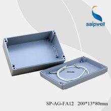 IP 67  200*130*80 mm  Waterproof  Aluminium Box for Electronic  (SP-AG-FA-12)