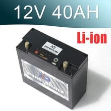 Солнечный ИБП светодиодный Гольф автомобиля 12 В 40ah литий-ионный аккумулятор