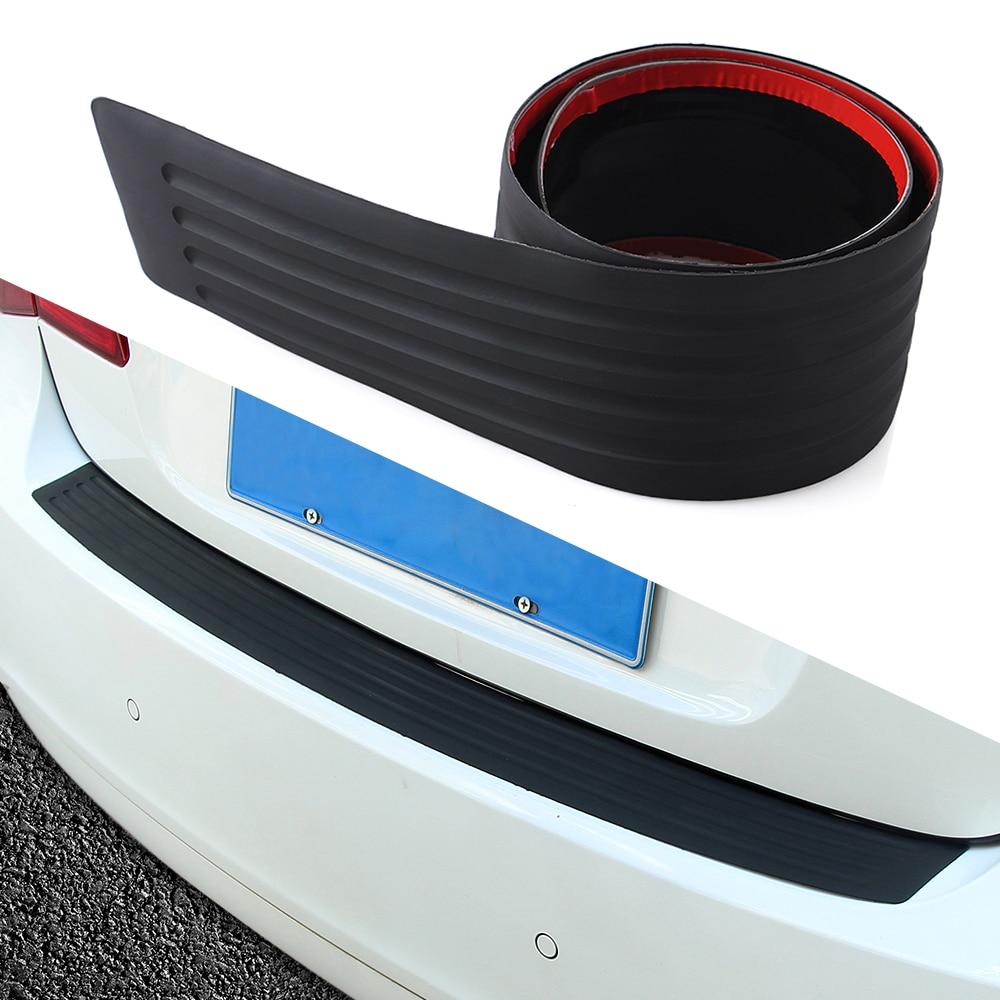 Резиновый Задний защитный бампер, протектор для Toyota Corolla Yaris Vios Hilux Hiace Wish Auris Prius Previa RAV4 Camry Avensis Verso