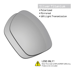 Image 3 - SmartVLT 3 זוגות מקוטב משקפי שמש החלפת עדשות עבור אוקלי Twoface XL התגנבות שחור וכסף טיטניום וקרח כחול