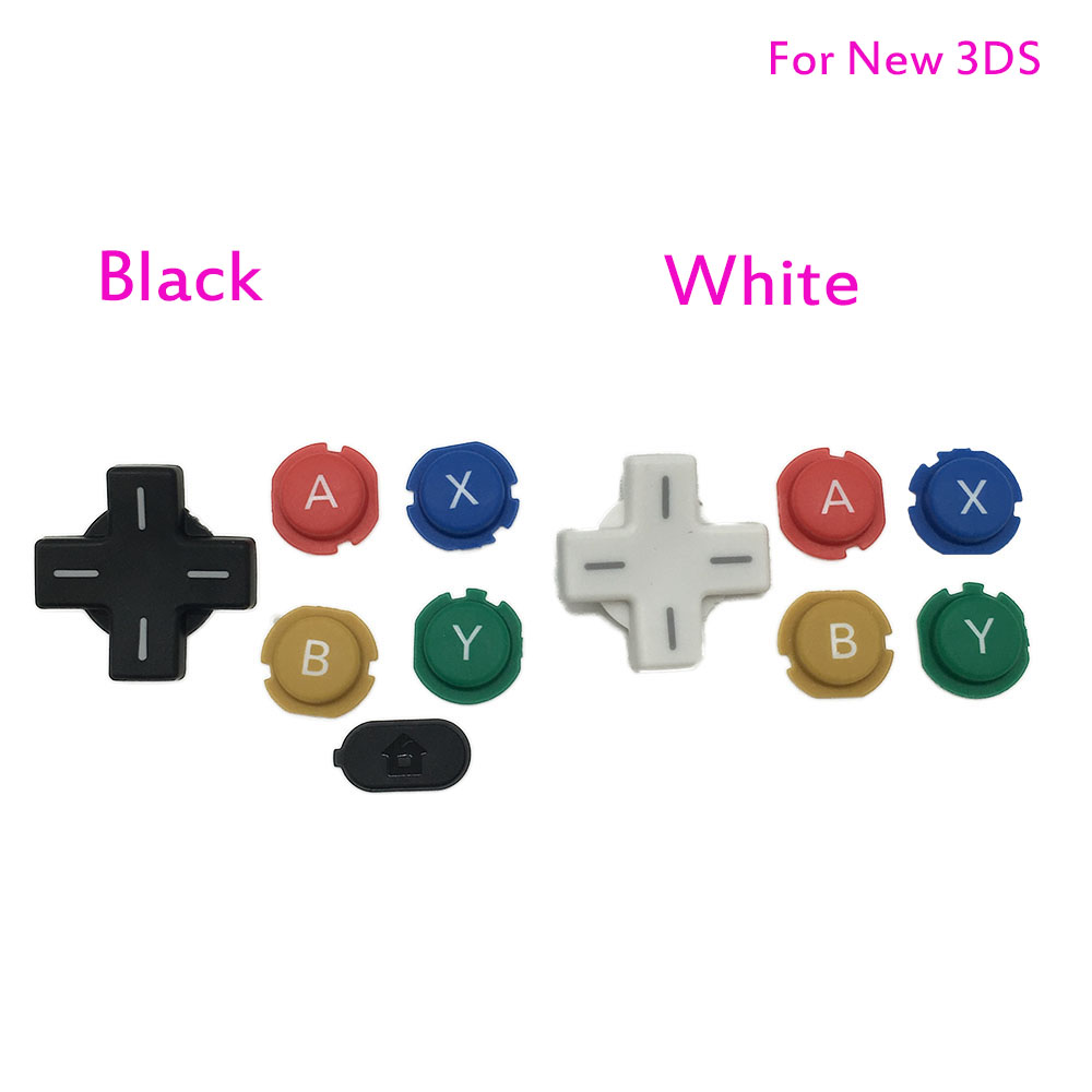 2015 New Version For Nintendo New 3DS ABXY Buttons D Pads For New 3DS цена