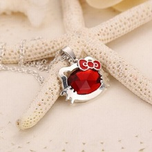 Hello Kitty Rhinestone Necklaces