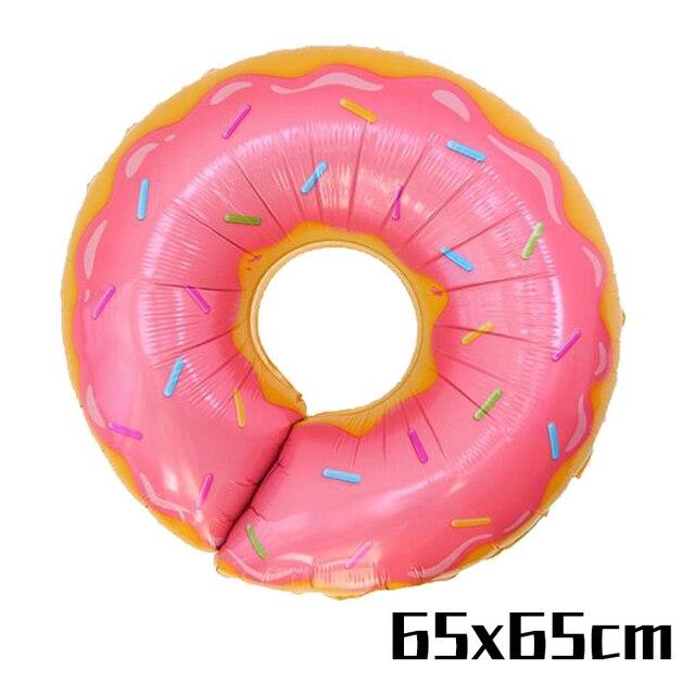 Pink Donut Balloon Monkey 1st birthday decorations 5c64f9ae5e23e