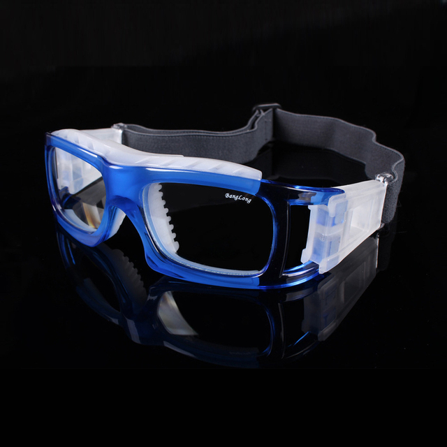 32bc31f3b2b4 Laura Fairy Sport Glasses Football Basketball Volleyball Sport Myopia  Goggles Silicone Rubber Tip Impact Safety Glasses Men