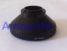 Amopofo PK-C Adapter For Pentax Okay PK Mount Lens to C Mount 16mm Movie Digicam Adapter