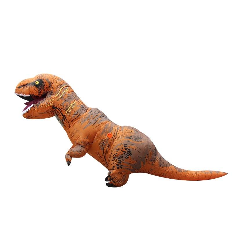 Надувные тираннозавр рекс костюм мир парк blowup динозавр взрослых Хэллоуин Пурим костюмы для взрослых Размер