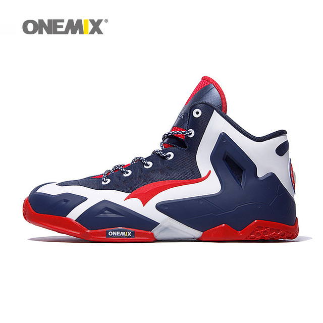 ONEMIX Brand Men's Basketball Top Quality Shoes 7 Color Breathable Anti-collision Technology Sneakers for Men Sports Shoes 1115