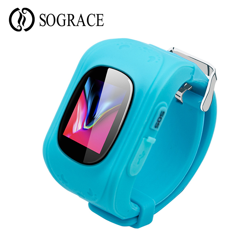Q50 SOS Smart Kid Watches Call Reminder WIFI GPS Tracker Smartwatch for Childreb Anti Lost Monitor Baby Wristwatch PK Q90 Q750