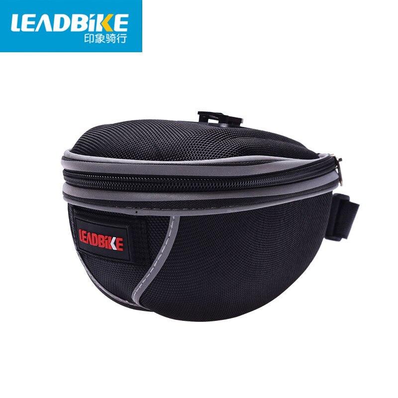 Taška na přední kolo s reflexním pruhem z polyesteru 600D, vodotěsný venkovní sportovní cestovní cyklistická sedlová taška pro muže