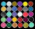 30 Mix Cor Da Sombra de Olho Sombra Em Pó Cosméticos Makeup Artist Set Salon