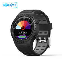 Interpad M1 MTK2503 GPS Smart Watch Men Bluetooth Multi Sport Smartwatch Support Compass Barometer Wristwatch For iOS Android(China)