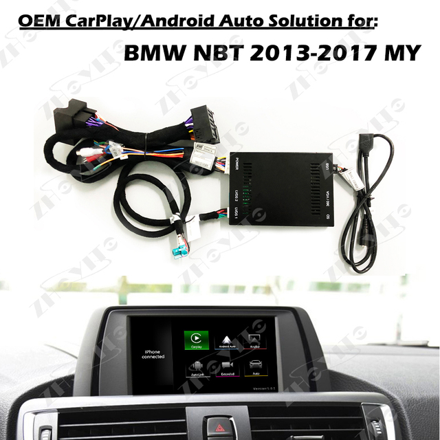 Aftermarket OEM Apple Carplay Andriod Auto 1 /2 / 3 /4 / 5 /7 series X1 X3 X4 X5 X6 MINI IOS Airplay Retrofit for BMW