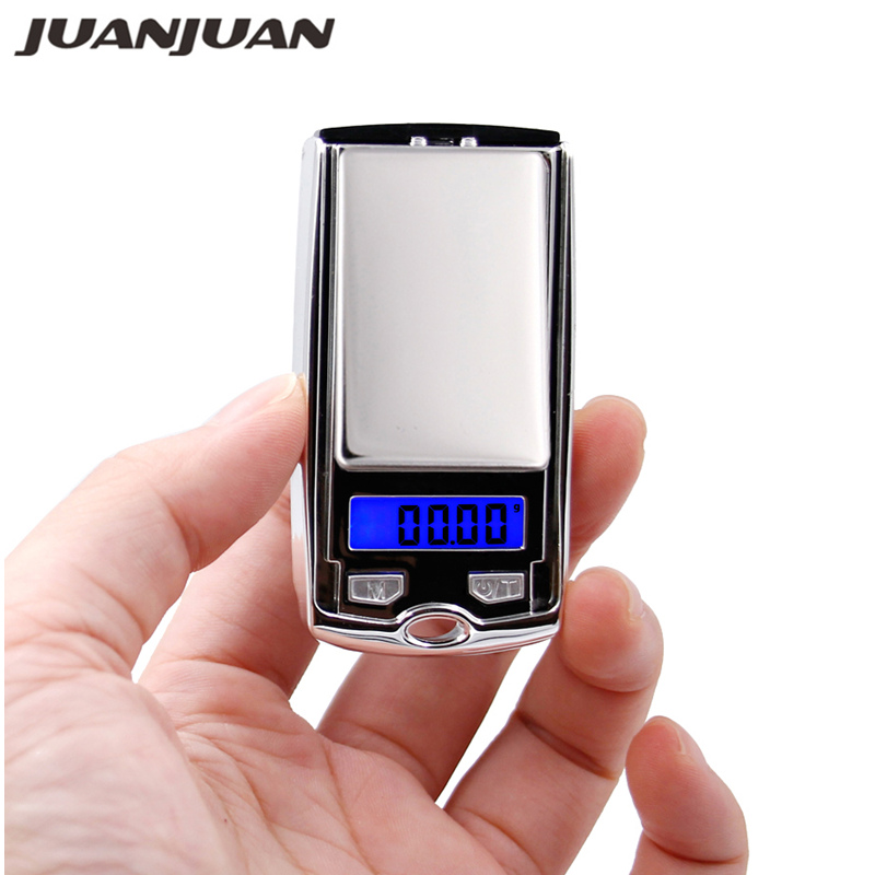 100g*<font><b>0.01g</b></font> mini LCD Electronic Digital Pocket <font><b>Scale</b></font> Jewelry Gold Weighting <font><b>Gram</b></font> balance Weight <font><b>Scales</b></font> small as car key 30% off image