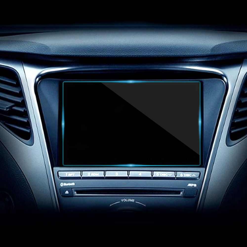 Car Styling 6.2 Inch Auto GPS Navigation Protective Film Screen Steel material LCD Screen Film Tempered film Car Stickers 1pc|Car Stickers| |  - title=