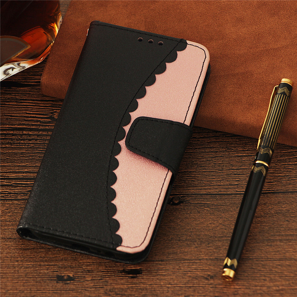 For apple iPhone X XR Xs Max 8 7 6 6S Plus 6Plus Luxury Flip Mobile Phone Case Wallet Card Pocket Vintage Cover New Arriva E03Z