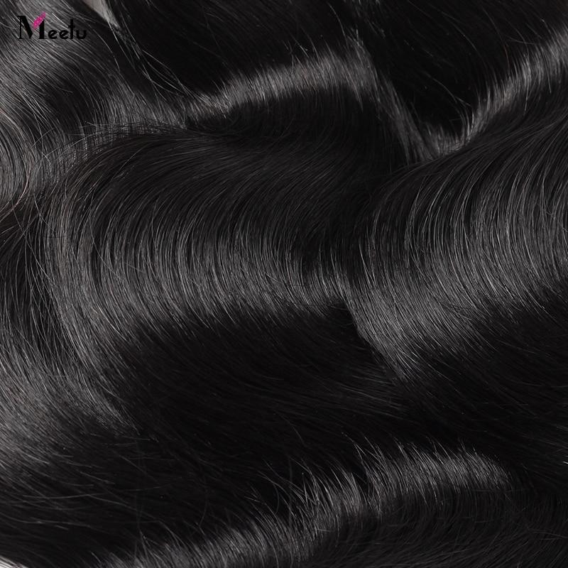 4 Bundles Brazilian Body Wave Bundles Deal Meetu Braziian Human Hair - Skönhet och hälsa - Foto 5