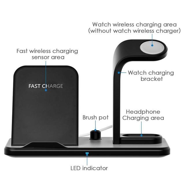Revolt 3.0 USB Fast Charging Dock Stand 5