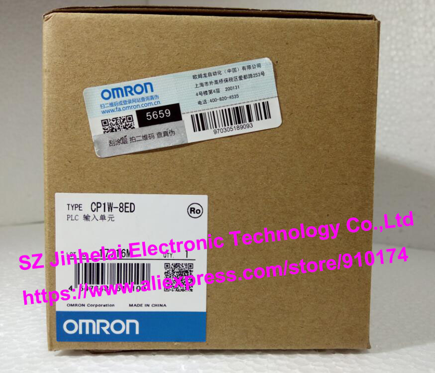 New and original CP1W-8ED OMRON PLC INPUT UNIT cp1w ext01 new and original omron plc communication adapter