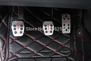 Авто педаль газа акселератора, подножка и педаль тормоза для Ford Escort 2015, MT и AT, автомобильные аксессуары, автомобильные аксессуары