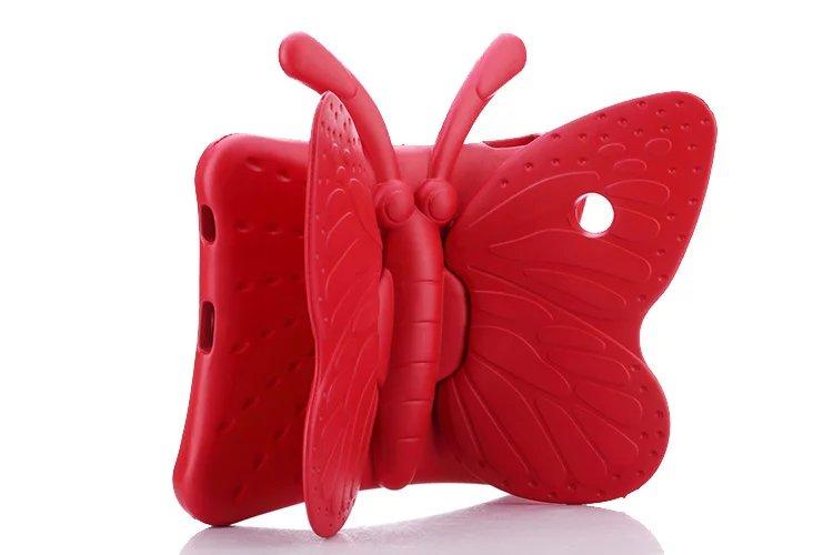 2017 hot Kids EVA Funda de goma 3D tablet mariposa para Apple iPad 2 - Accesorios para tablets - foto 2