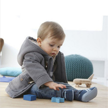 Baby Boys Jacket Winter Clothes Brand New Kids Outerwear Coat Thick Clothes Children Clothing With Hooded