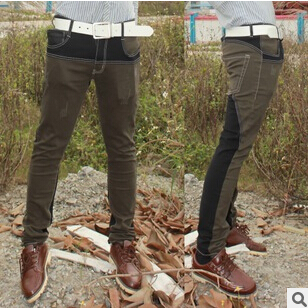 Good quality Free shipping 2017 new Korean version the popular young men mixed colors Slim small feet jeans Cheap wholesale free shipping j2 q24a a no new old components good quality igbt moodule can directly buy or contact the seller