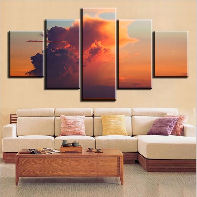 Aliexpress Com Buy 5 Panel Boracay Aklan Philippines Painting 5 Panel Boracay Aklan Philippines Painting Canvas