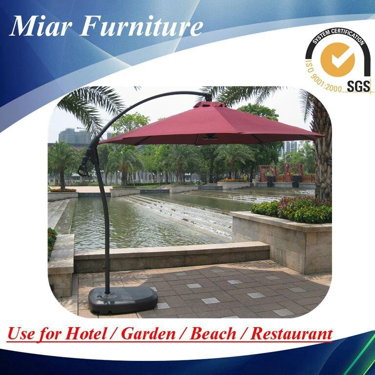 Led Light Umbrella Base Sun Garden Parasol Parts