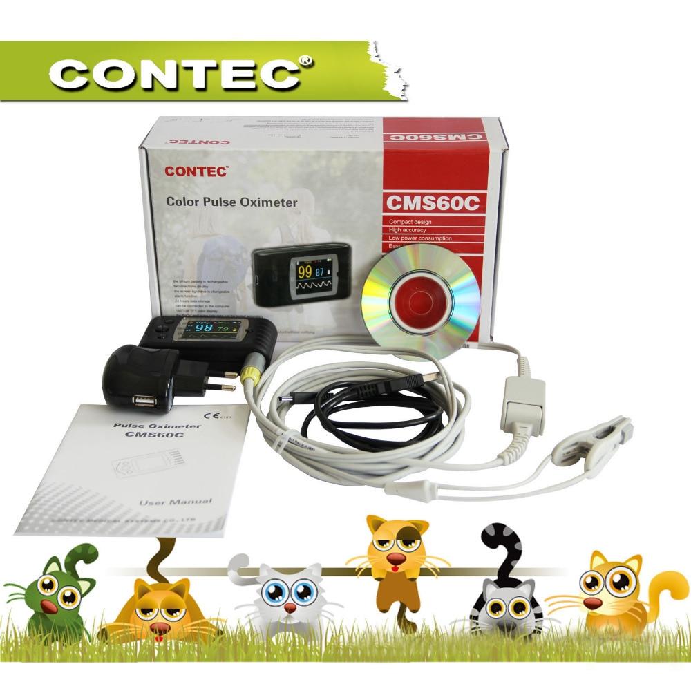 Handheld Veterinary Pulse Oximeter with Tongue SpO2 Probe+PC Softwar Vet/AnimalHandheld Veterinary Pulse Oximeter with Tongue SpO2 Probe+PC Softwar Vet/Animal