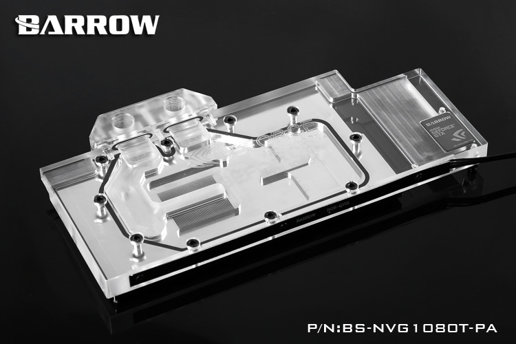 Barrow BS-NVG1080T-PA Block for Founders GTX1080Ti Titan X  ilve 600 nvg ant c