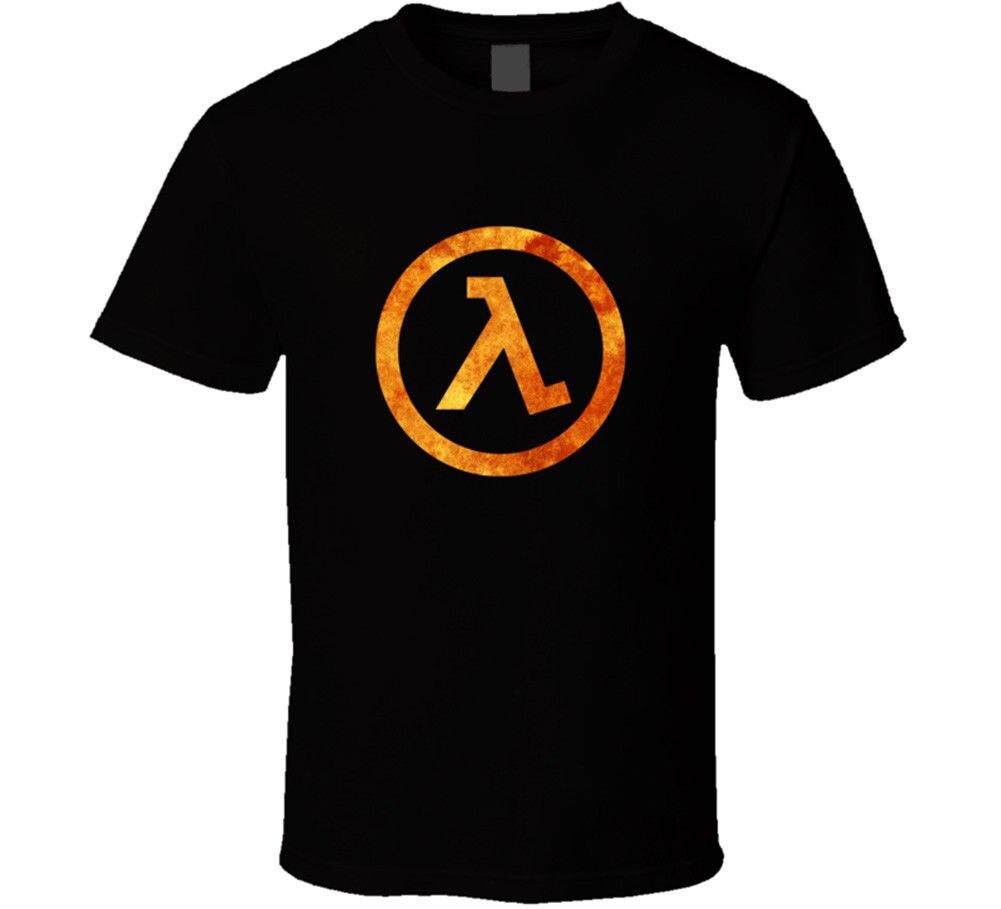 Half Life Lambda Video Game T Shirt Tee Gift New From Us