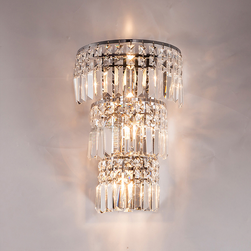 K9 Crystal Wall Light Living Corridor Crystal Wall Sconce Bedroom Bedside  Crystal Wall Lamp Large Wall Light Lighting For Hotel In Wall Lamps From  Lights ...