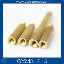 Free shipping M2*7+3mm  cctv camera isolation column 100pcs/lot Monitoring Copper Cylinder Round Screw