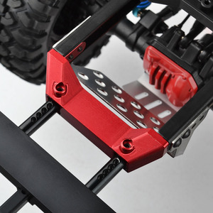 Image 5 - 1/10 RC Alloy Front Servo Stand Rear Bumper Mount For 1:10 RC Crawler Traxxas Trx4 TRX 4 Upgrade Parts