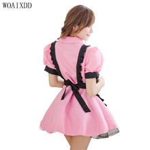 Sexy Lingeries Women Sexy Late Nite French Maid Costume Servant Cosplay Sexy Women Dress Exotic