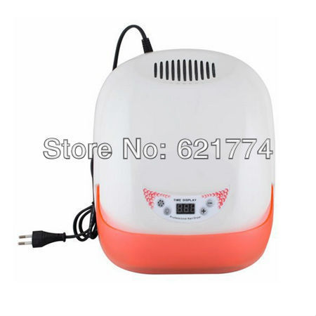 36w Auto Sensor Nail Art Curing Salon UV Gel Curing Lamp Dryer Including 4 Bulbs Cooling Fan Nail Uv Lamp Free Shipping