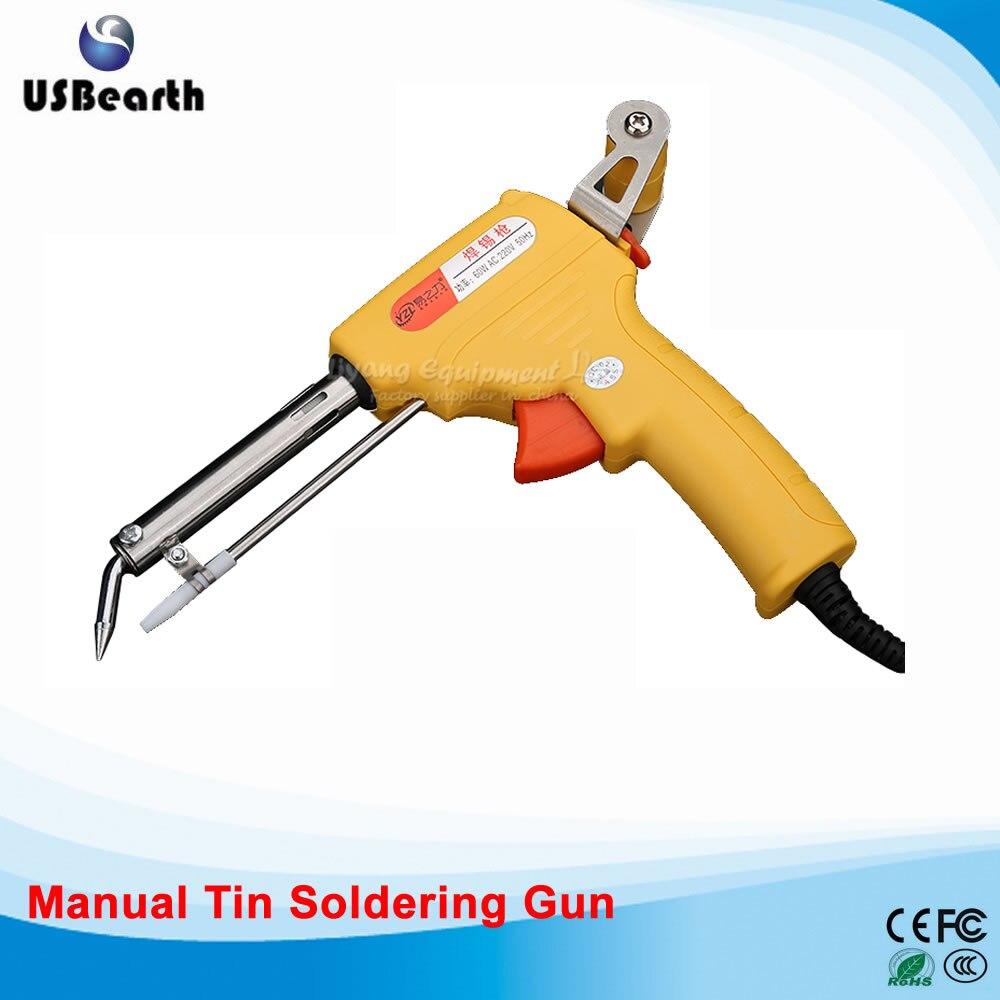 Automatic feed tin soldering machine 60W / manual electric soldering gun feed