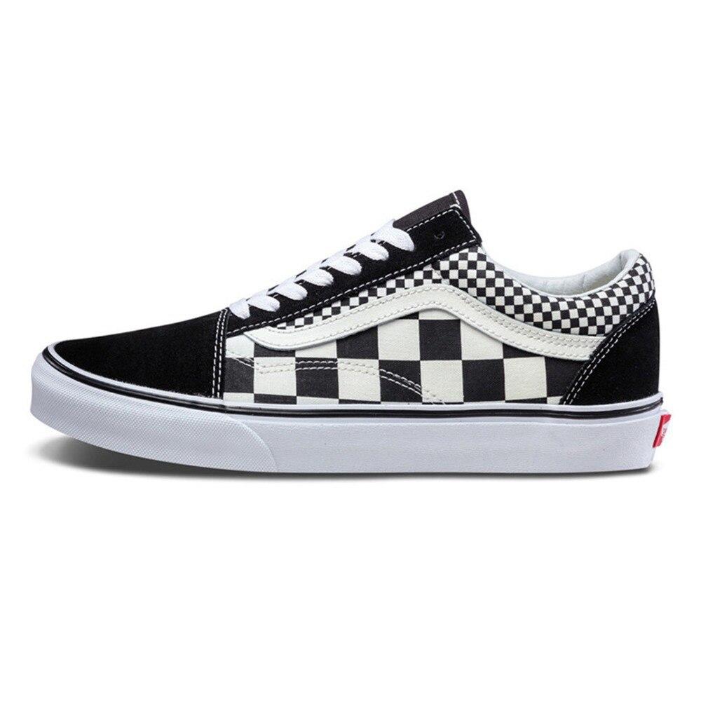 fc51be7e2e5 Original New Arrival Vans Men s   Women s Classic Old Skool Low-top  Skateboarding Shoes Sneakers