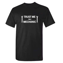 Mens TRUST ME Im A MECHANIC T Shirt - Funny Car Enthusiast TShirt Gift Idea