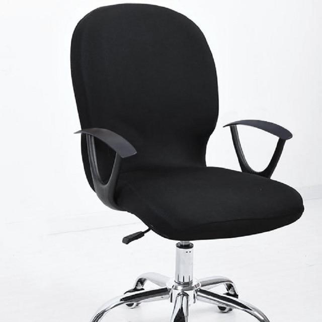 Lastique Chaise De Bureau Couvre Sige Pour Ordinateur Chaises Stretch Rotation Couverture