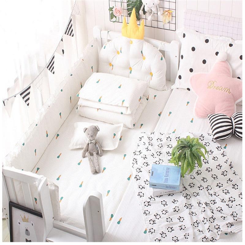 Baby Pillow Newborns Cotton Pillow 50*30cm Super Soft Infant Baby Sleep Pillow Safety Kids Head Protection Crib Bedding Set