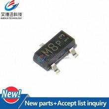 50 Шт. BSN20 SilkscreenM8 SOT-23 n-канал режим повышение вертикальный d-моп-транзистора Новое и оригинальное