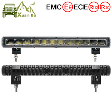 Супер тонкий 60 Вт 13 дюймов 12 В 24 В Автомобильный светодиодный бар 4x4 внедорожный светильник авто для внедорожных наводнений DRL ATV 4WD грузовик рабочий Барр светильник для вождения s