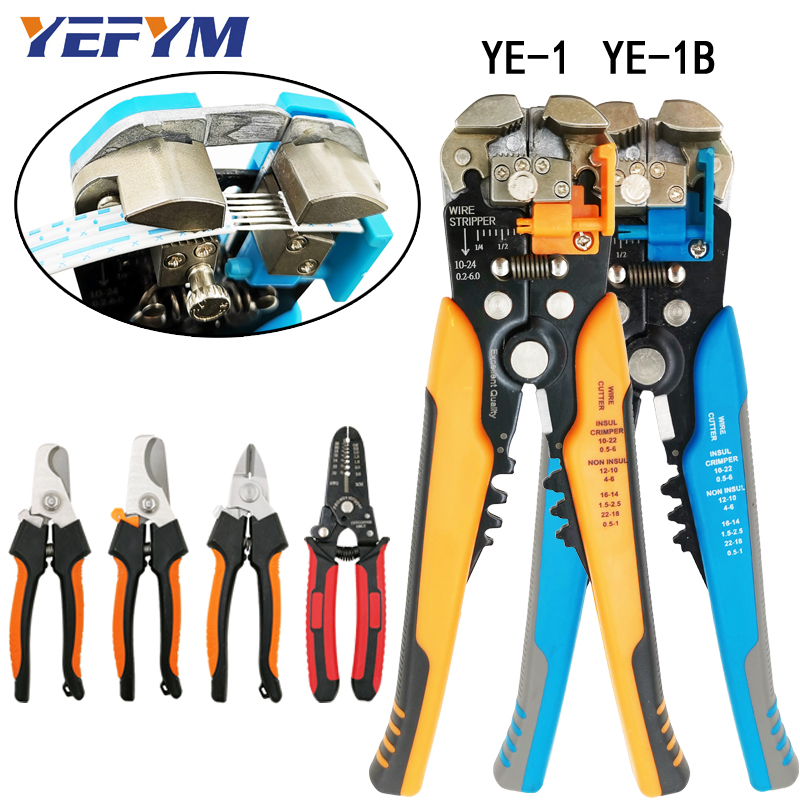 3 in 1 Multi werkzeuge Kabel draht cutter stripper zangen multifunktions marke Crimper Automatische elektrische reparatur diagnose-tools