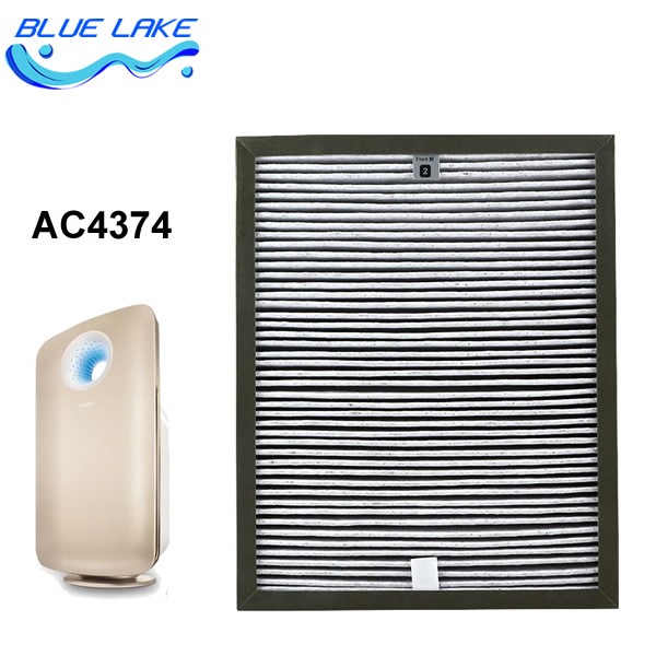 Original OEM,For AC4374,Efficient addition to formaldehyde Composite filters,AC4138,size 290x362x53mm,air purifier parts