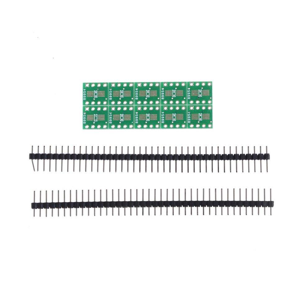 1 x SO8 SOP8 SSOP8 TSSOP8 SMD To DIP8 Adapter 0.65//1.27mm PCB Board Pins