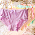 4 pieces 2017 New women's lovely sexy Modal transparent panties panty briefs underwear intimates free shipping AU00617